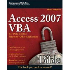 Access 2007 VBA Bible cover
